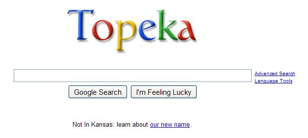 Google's Topeka